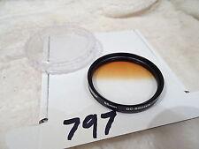 Jessop 55mm GC-Marrón graduado tinte de lente de cámara Filtro, Hecho En Japón limpio
