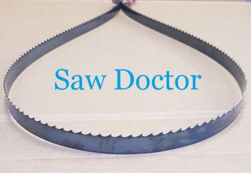 "4  Bandsaw Blades  98/"" Metal cutting x 1//2/"" x tpi    Wood 2489mm"