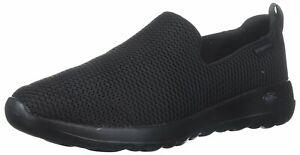 Skechers Womens 15600 Go Walk Joy Fabric Low Top Slip On, Black, Size 7.5 S1U1