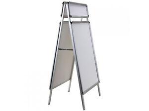 Plakatständer A1 Gehwegaufsteller Kundenstopper 84x60cm Top Schild