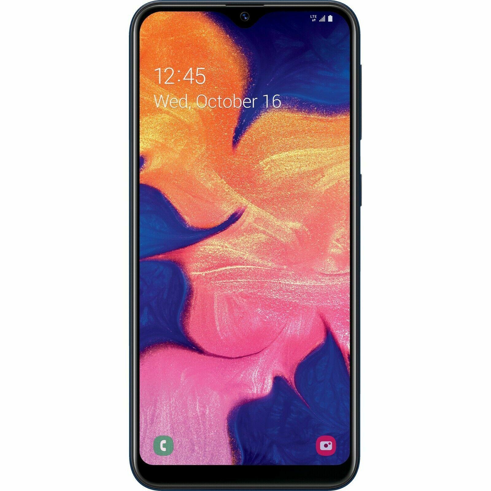 Simple Mobile Samsung Galaxy A10e 4G LTE Prepaid Cell Phone