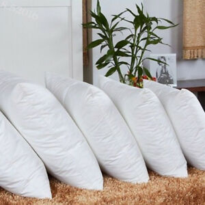 Square-White-Throw-Pillow-Cushion-Sofa-Waist-Pillowcase-Filler-Inner-Pad-Insert