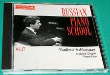 Chopin # Etudes Op 10 Liszt Vladimir Ashkenazy Russian Piano V17 (Melodiya) CD