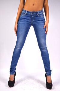 Pepe-Jeans-Pixie-AZUL-MEDIO-Z36-Ajustado-Jeggings-Licras-NUEVO-W25-W26-W27