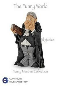 Mestieri-Funny-Collection-Les-Alpes-Juez-014-12009-Caricatura-Estatuilla