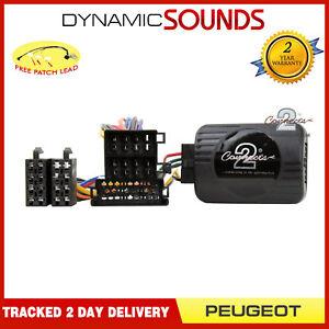 CTSPG004-2-Steering-Wheel-Control-Interface-Adaptor-Lead-For-Peugeot-206-306