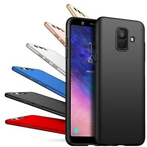 Hard-Back-Case-Cover-Samsung-Galaxy-j6-2018-duenn-Cover-Slim-Shockproof-Rugged