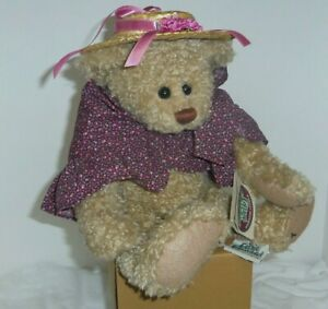 Penelope 12in Retired Ganz Cottage Collectibles Teddy Bear Straw Hat Cape Cc127 65810915715 Ebay