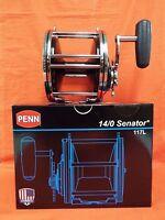 Penn 14/0 Senator Star Drag Conventional Reel 1.6:1 Gear Ratio 1151087 (117l)