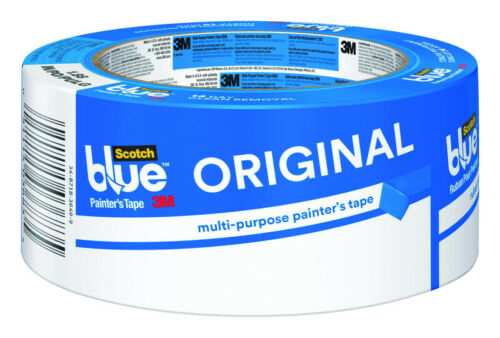 W x 60 yd 3M  Scotch Blue  1.88 in L Blue  Medium Strength  Painter/'s Tape