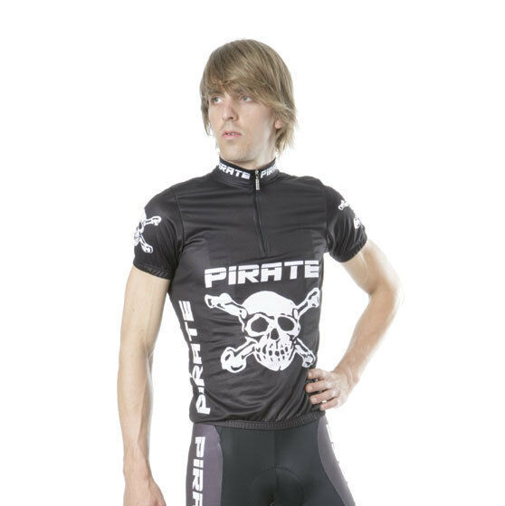 Pirate Trikot black, Skull, Totenkopf, Pirat