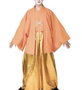 Japanese Men/'s Kimono Tonosam King Samurai Bushi costume Jacket Pants Hakama Set