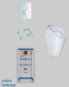 absaug urinal anlage komplett set inkl vorwandelement pissuar ebay. Black Bedroom Furniture Sets. Home Design Ideas