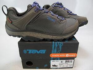 ed0d20b114d Details about TEVA Women's SURGE EVENT Black Olive/Purple Hiking Shoe US 5  M 1005612