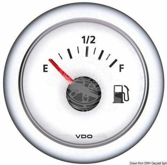 OSCULATI Strommeter weiß -60 A + 60 A