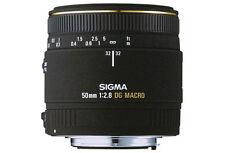 Sigma 2,8 / 50 mm EX DG Macro Objektiv für SONY Alpha SLR Neuware
