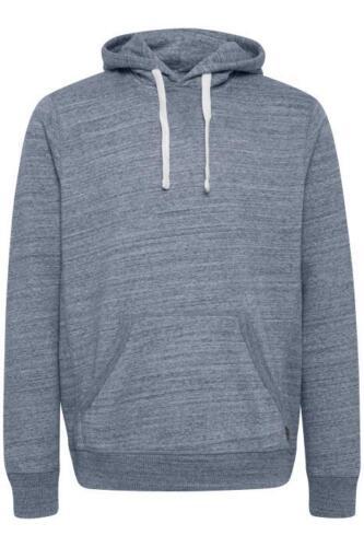 Blend Sweatshirt Pullover Hoodie warm Herbst Freizeit Blau Grau Kapuze Sport