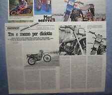 MOTOSPRINT982-PROVA / TEST-1982- CAGIVA ENDURO 4 T - 4 fogli