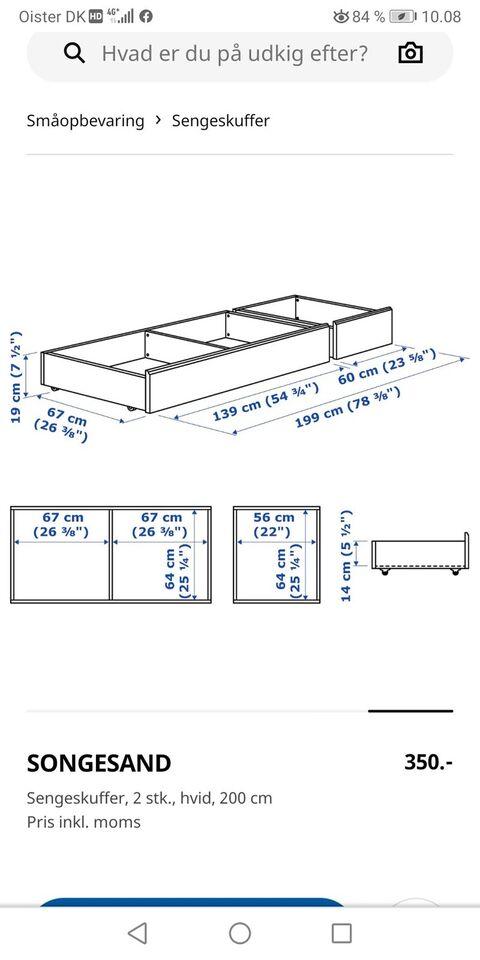 Sengeskuffe, Ikea Songesand