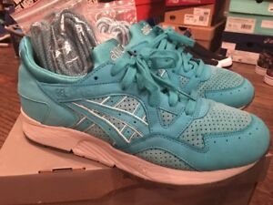 Asics Ronnie Fieg Gel Lyte V 5 Cove Blue Mint KITH Super Green ... ccd83b30f485