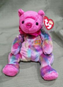 909560a8b47 Image is loading Ty-Beanie-Baby-January-the-Birthday-Bear-MWMT-