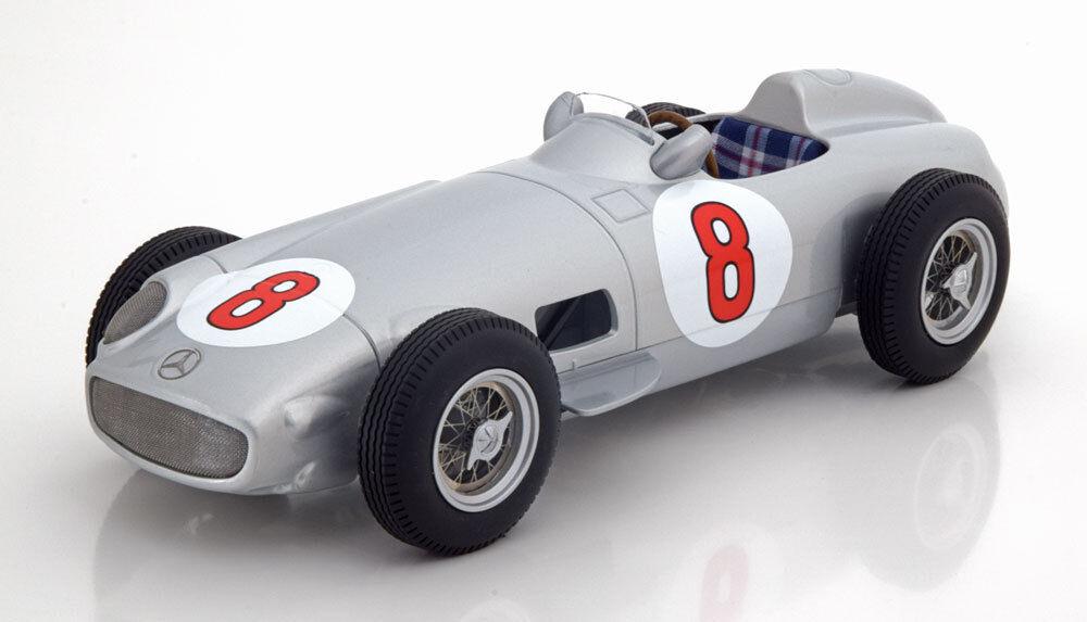 Je échelle MERCEDES BENZ W 196 Grand Prix NETHERLAND World Champion 1955 FANGIO  8 1 18 nouveau
