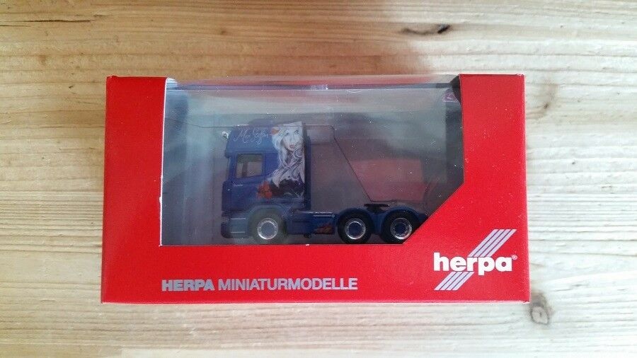 Herpa 110884 - 1 87 scania R tl 6x2 tractor-Max tractor-Max tractor-Max steffen (CH) - nuevo 880232