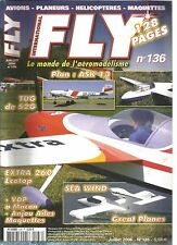 FLY N°136 PLAN : METEOR MONOPLANE - ASK 13 / PILATUS PC 12 / EXTRA 260 ECOTOP