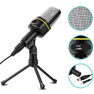 Microphone-With-Mini-Stand-Tripod-Audio-Recording-For-Computer-PC-Phone-Desktop
