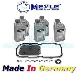 Meyle Automatic Transmission Oil Change Kit and 5ltrs of Fluid 014 135 0200