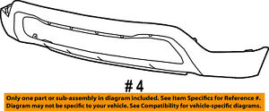 Jeep-CHRYSLER-OEM-17-18-Grand-Cherokee-Front-Bumper-Lower-Cover-68262001AA