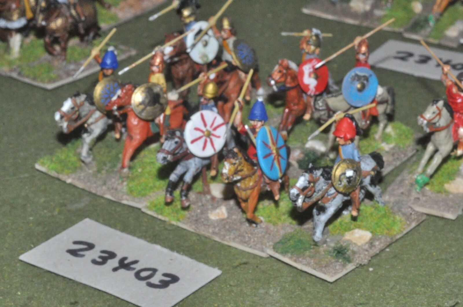 25mm classical   greek - light 12 figures - cav (23403)