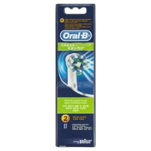 Oral-B CrossAction Electric Toothbrush Head 2 pack