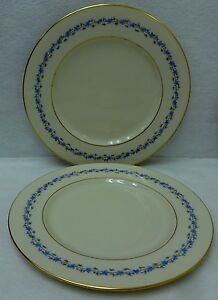 LENOX china CAPRICE pattern O375 DINNER PLATE - Set of Two (2) - 10-1/2""