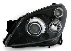 Scheinwerfer links für Opel Astra H mit D2S XENON HID / H7 + elektr. LWR Schwarz