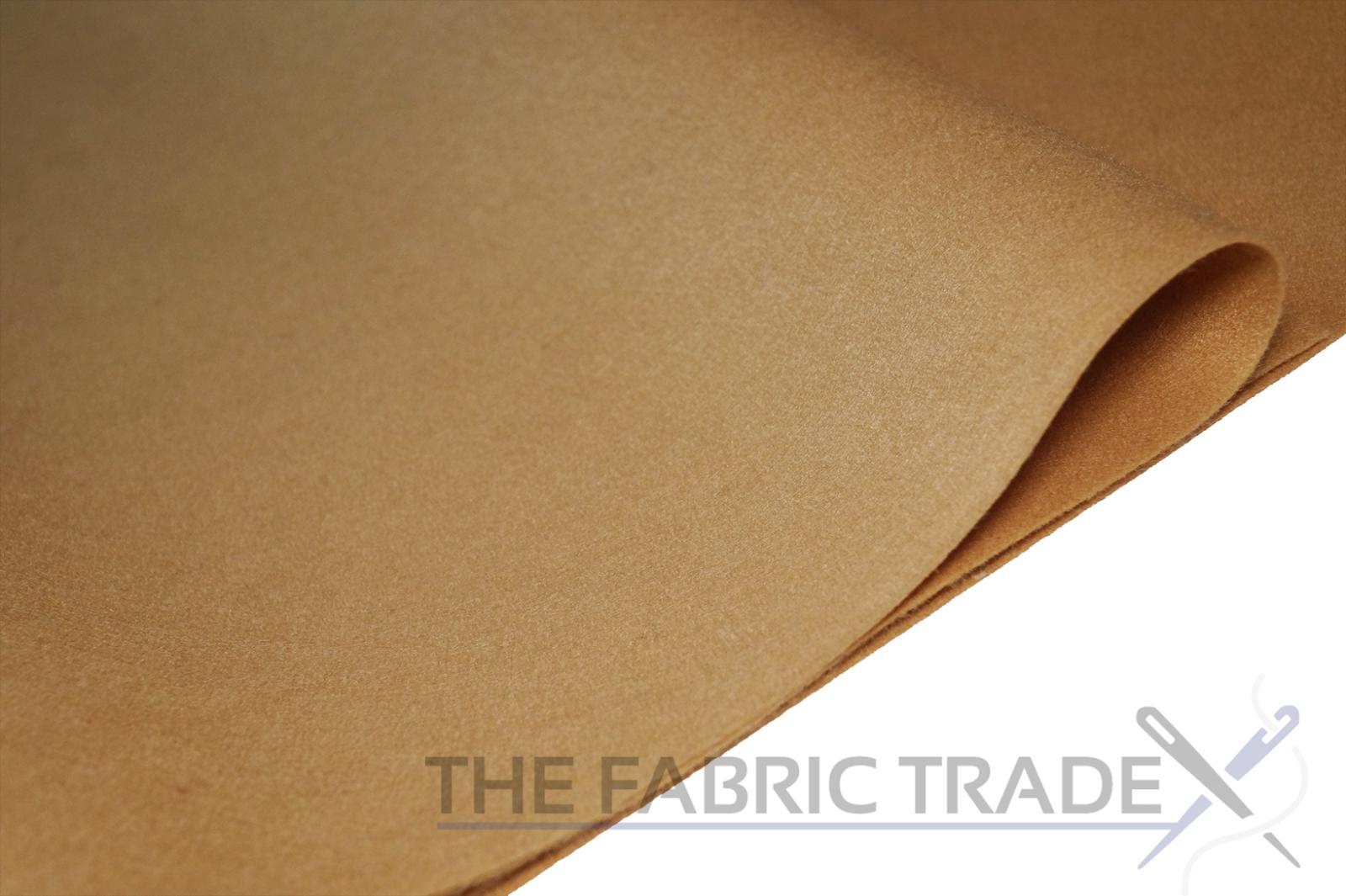 Acrylic Felt Baize Craft//Poker Fabric Material B.S DARK BROWN