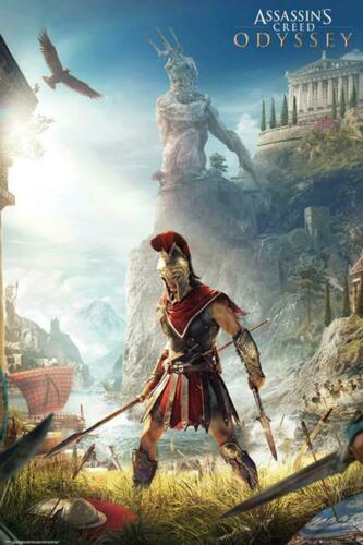 Assassin/'s Creed Odyssey Poster Keyart 61 x 91,5 cm