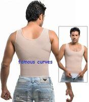 Camiseta Reductora Colombiana Para Hombres Full Compression Corrector De Postura