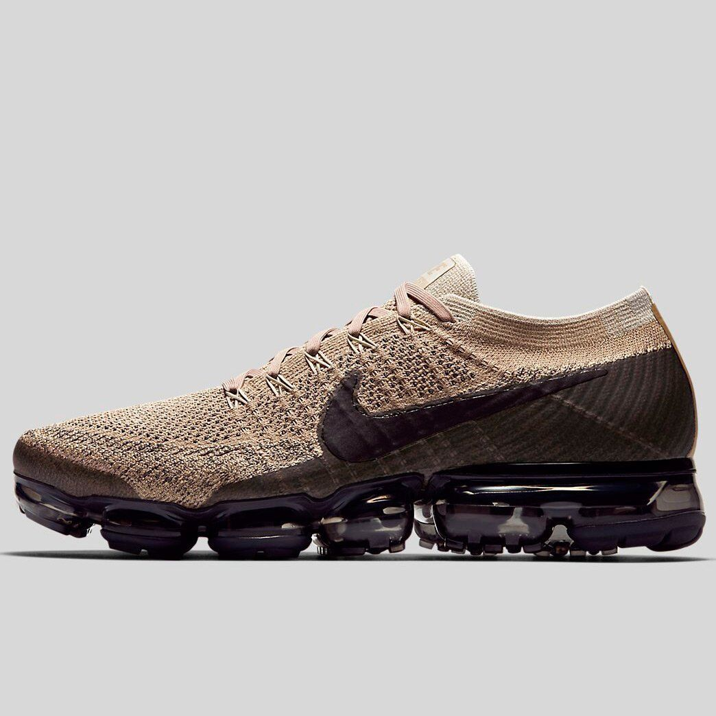 Nike Air Vapormax Khaki Nero Size 9.5. 849558-201 2017 1 90 95 97