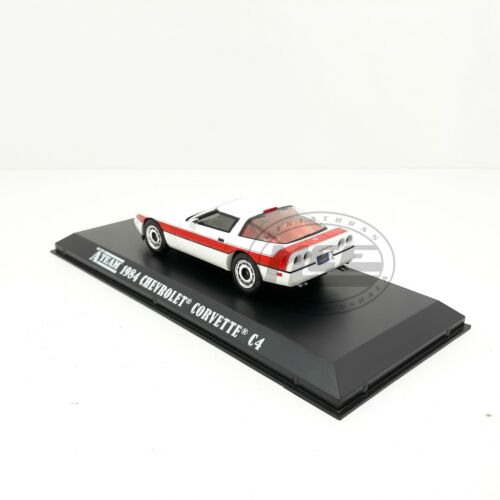 1//43 CHEVROLET CORVETTE C4 1984 AGENCE TOUS RISQUES EQUIPO A GREENLIGHT A-TEAM