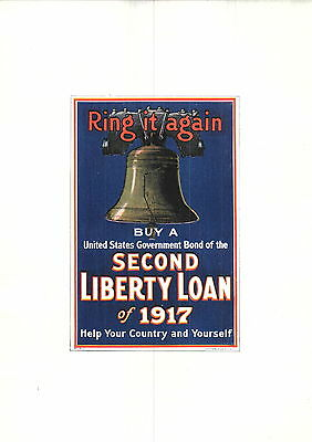 1919 Battle Ships J Scott Williams Mini Poster Shafer WW1 Liberty Loan War Bond