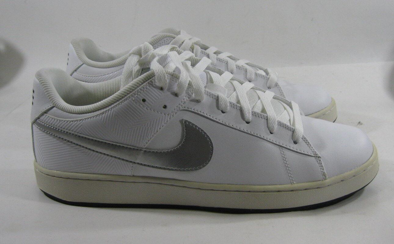 Nike Santa Tamaño Cruise 318816 113 Blanco/Plateado Tamaño Santa 13 3f4b57