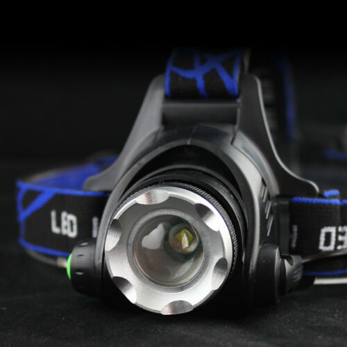 Tactical Rechargeable 30000LM T6 LED Headlamp 18650 Headlight Head Torch Lamp