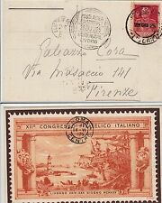 REGNO-POSTA AEREA ECCEZIONALE LIVORNO 28.6.1925+60c GIUBILEO(189)