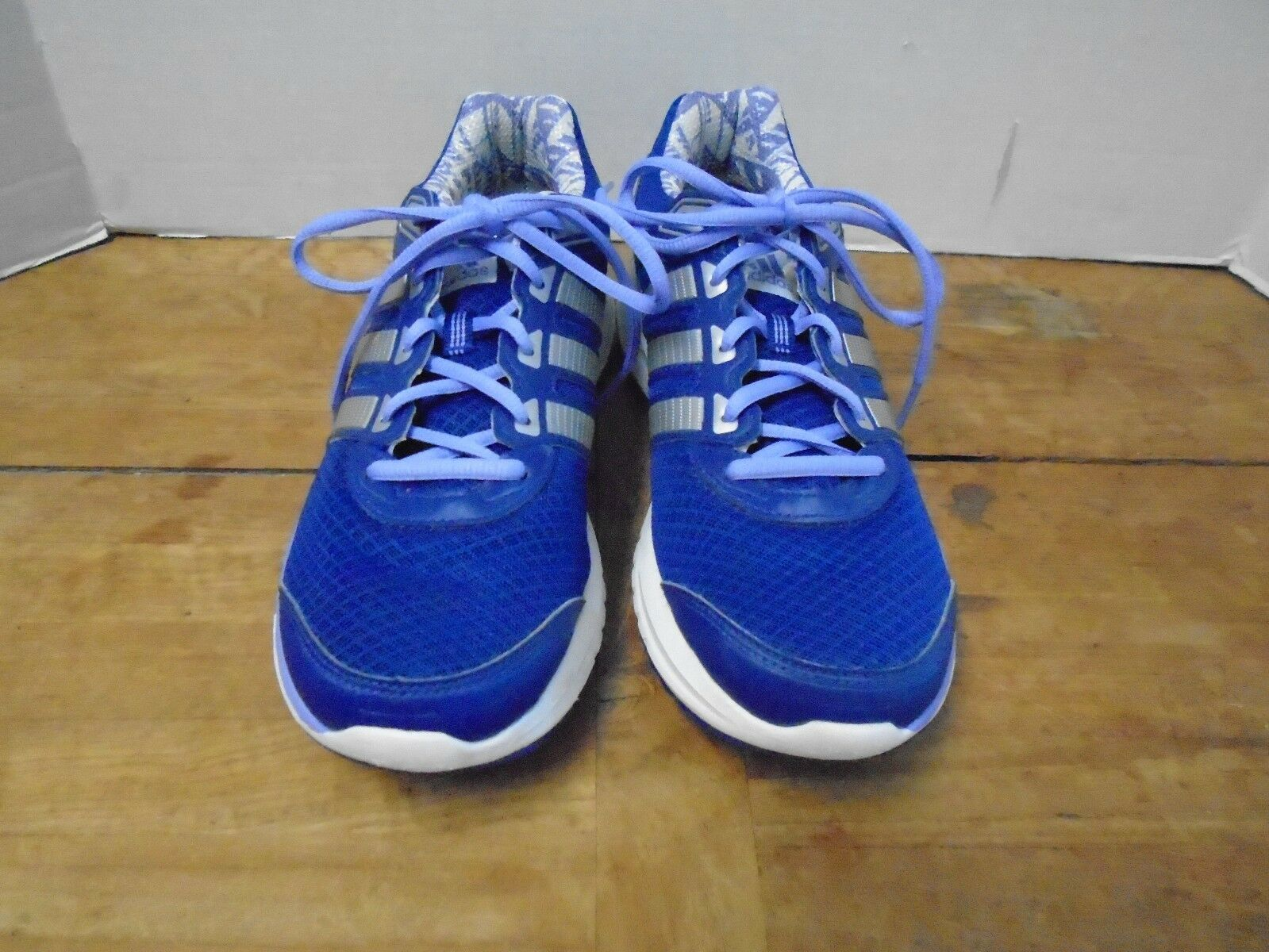 Adidas Running Donna  scarpe 10 1 2 2 2 M viola New Tie Outdoor Activity Lace Up c60d1f