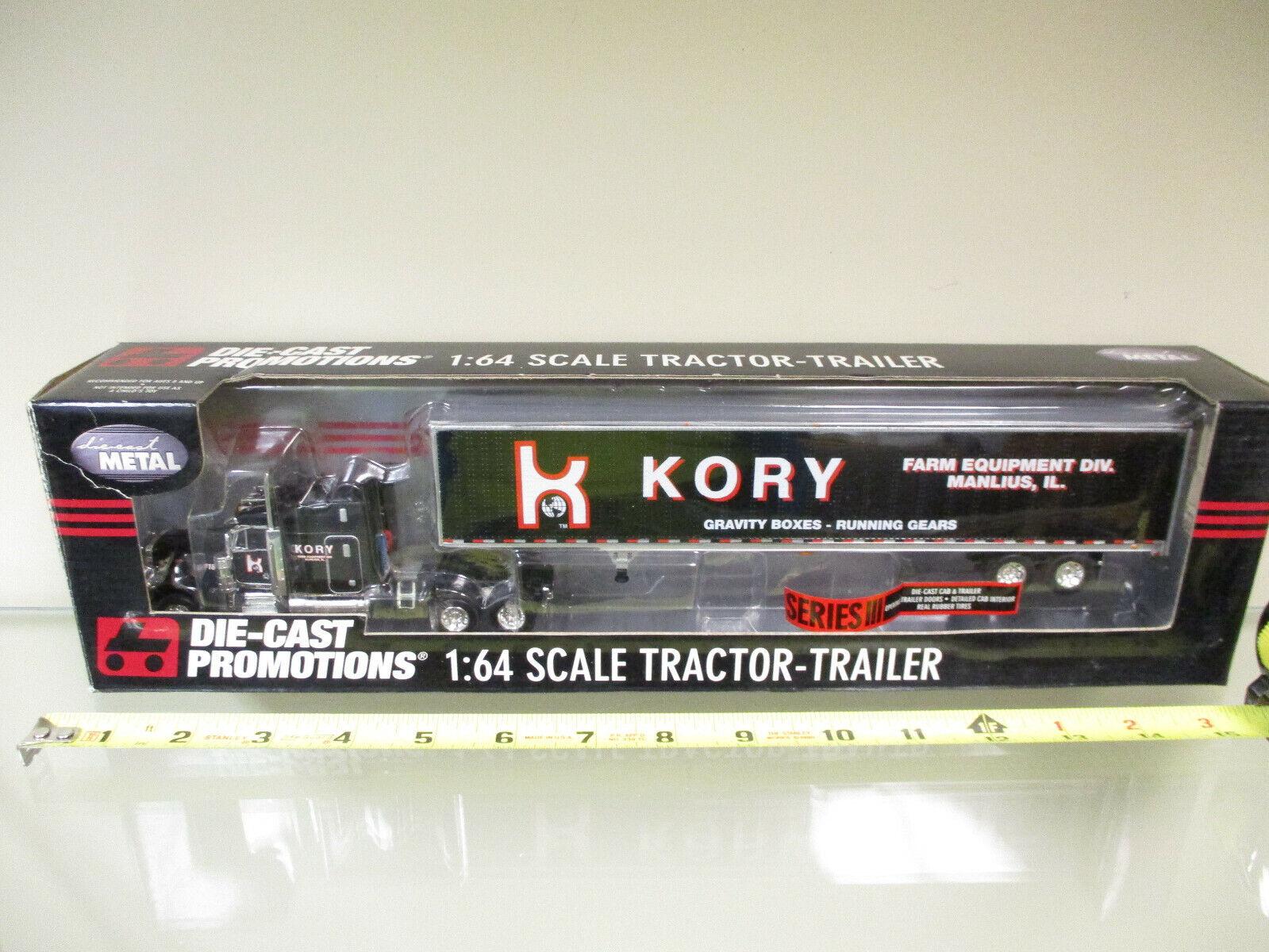 Kory Farm Equipment Gravity Boxes-Running Gears Gears Gears Peterbilt Semi by DCP 1 64 Scale a03e5a