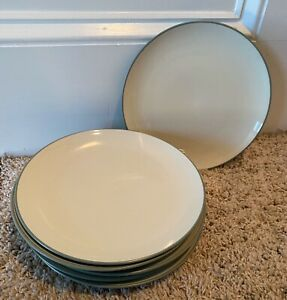 Noritake-COLORWAVE-GREEN-8-3-8-034-Coupe-Salad-Plates-Set-of-6