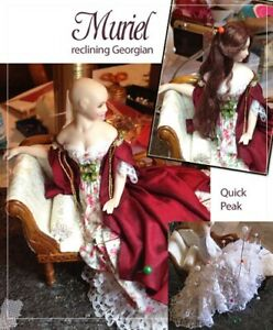 1:12 scale Miniature Doll Art Tutorial By DANA Pattern//Clothes//Hair//More SATI