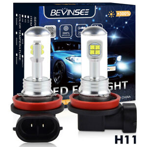 H11 DRL White LED Fog Driving Light Bulb For Lexus IS250 IS350 LX570 RX350 Lamp