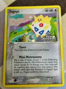 POKEMON-TRADING-CARD-TOGEPI-50-109-TEAM-ROCKET-HOLO-NM-SUMIYOSHI-KIZUKI